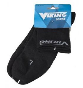 Viking coolmax schaatssokken zwart