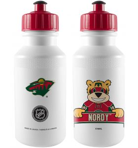 NHL Mascot Water Bottle 500ml Minesota