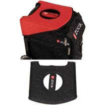 Züca Seat cushion black red