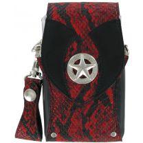 Bulls Hatch Snakeskin pak Black-Red