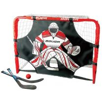 Bauer deluxe mini goal set