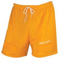 Bauer mesh jock short yellow JR