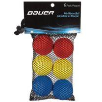 Bauer mini foam ball- 6 pack