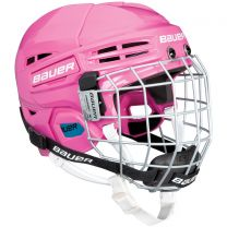 Bauer Helmet HH Prodigy YOUTH Combo pink