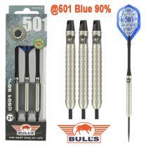 Bulls 90% @501 blauw darts 21-23-25-27