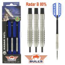 Bulls 80% Radar darts B 22-24-26 gram