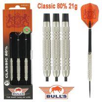 Bulls 80% Classic darts 21 gram