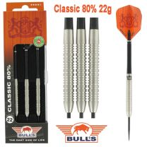 Bulls 80% Classic darts 22 gram