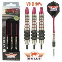 Bulls 90% V8 D darts