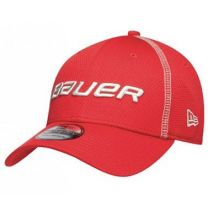 Bauer New Era training 39thirty cap Red M/L