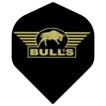 Bull's Powerflight black gold logo