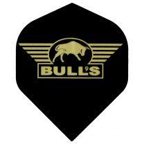 Bull's Powerflight black gold logo