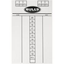 Bulls scorebord Budget 45X30 cm
