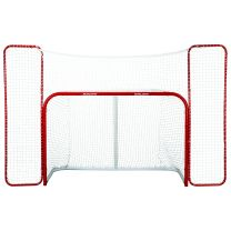 Bauer hockey goal with backstop